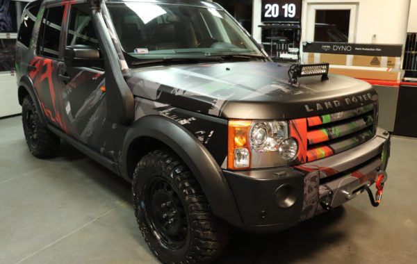 Land Rover Discovery – design